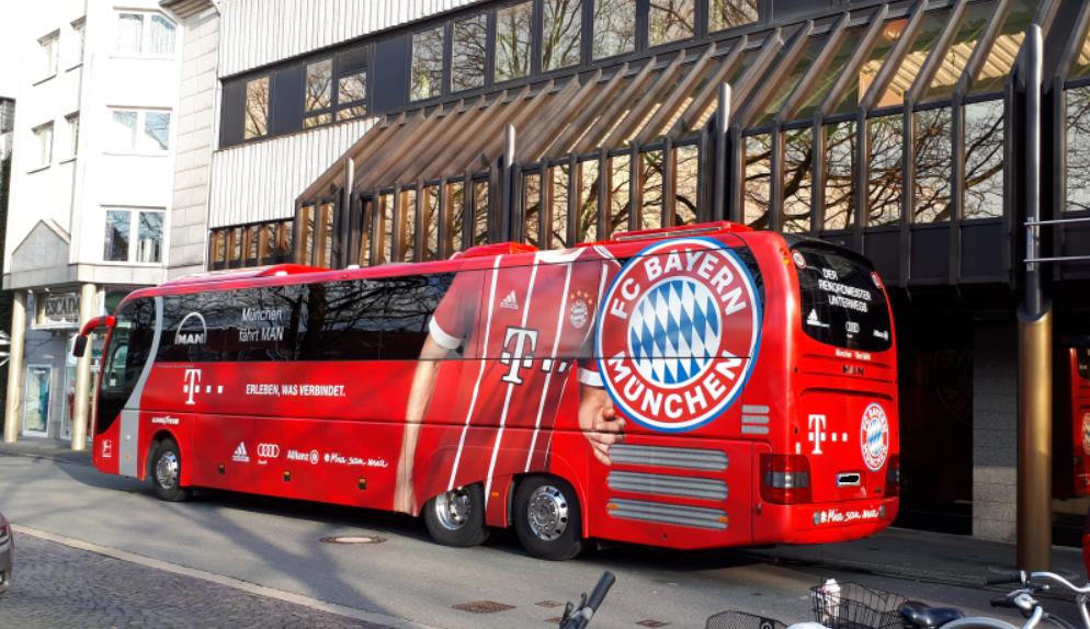 Bayern Bus Gesichtet